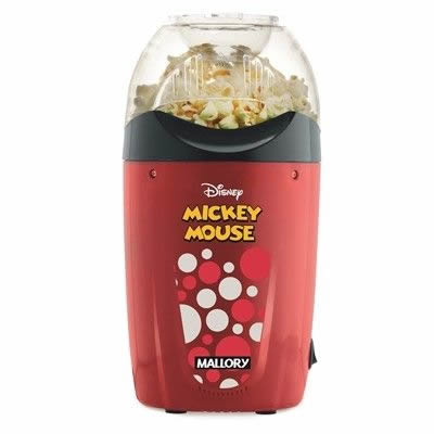 Pipoqueira Disney Não Ultilizar Óleo - Mickey - Mallory 220V