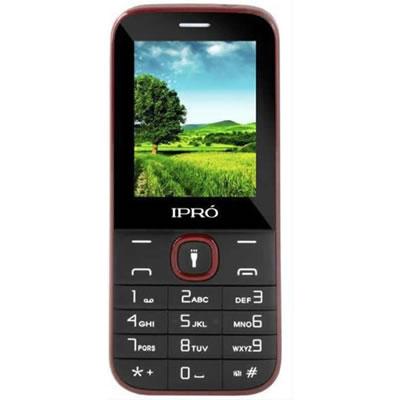 Celular Ipro I3200 2.4 Dual Preto